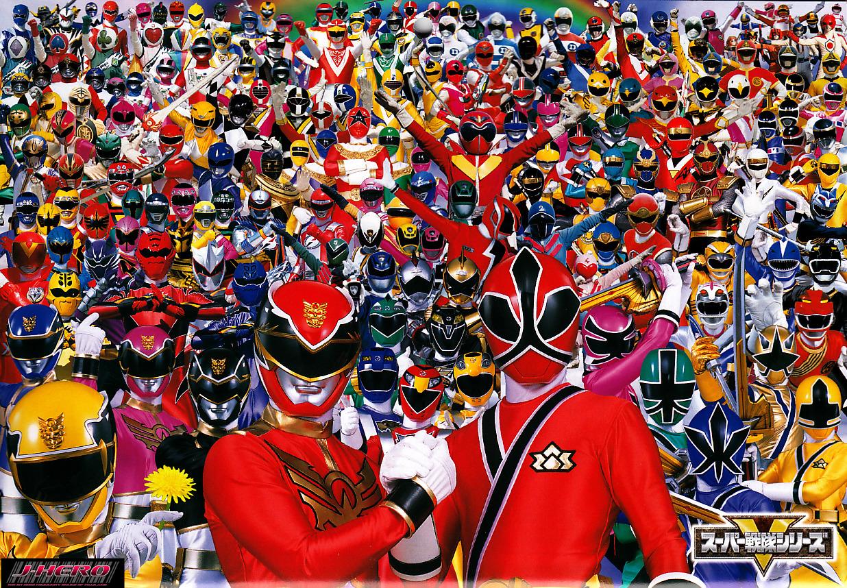 Todos los Super Sentai (Power Rangers) 30 Aniversario